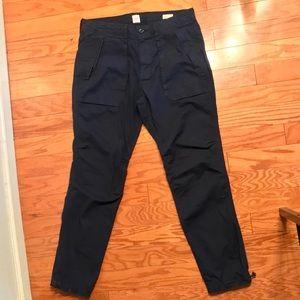 Gap Canvas Utility Pants Navy 32x32 Slim